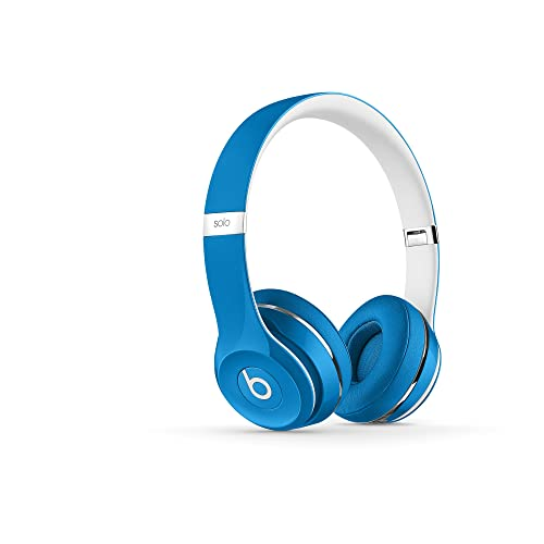 aee6f225ce2 Beats ML9F2AM/A Solo2 Wired On-Ear Headphone, Luxe Edition-Blue