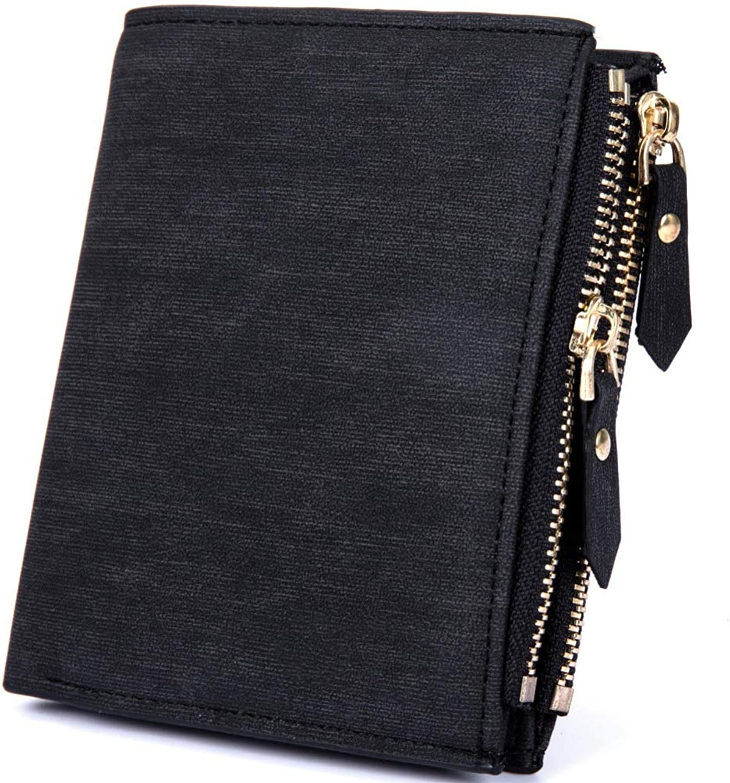 NAOSLHKJ Geldbörse Geldbörse Geldbörse Anti-Theft Protection Set of Coins Bag Zipper Men Wallet Leather Wallet Men's Money Bag of Money B07JM64DJQ 5324f0