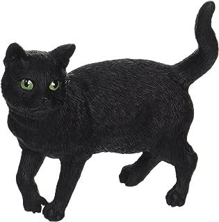 Standing Black Cat Figurine