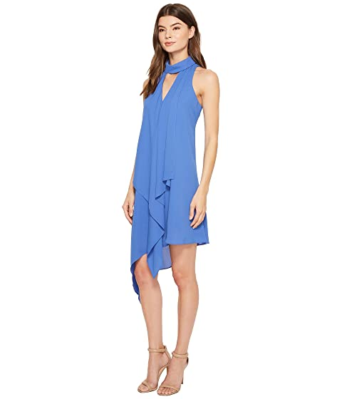 Denim Cascade Blue Swing Vestido Maggy London UqxICA1