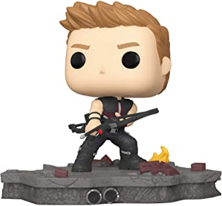 Funko Pop! Deluxe, Marvel: Avengers Assemble Series - Hawkeye, Amazon Exclusive, Figure 3 of 6, Multicolor