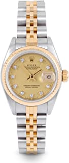Datejust Swiss-Automatic Female Watch 69173 (Certified Pre-Owned)