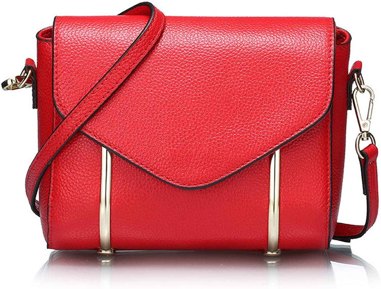 Meaeo The New Summer Summer Summer Bag Leather Handbag Embossed Satchel,Gules B07CPXKFQ5  Obermaterial 194c41