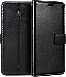 Nokia Lumia 1320 Wallet Case, Premium PU Leather Magnetic Flip Case Cover with Card Holder and Kickstand for Nokia Lumia 1320