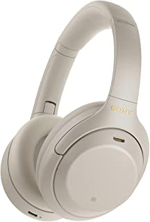 Sony WH-1000XM4S Wireless Noise Canceling Headphones, Silver