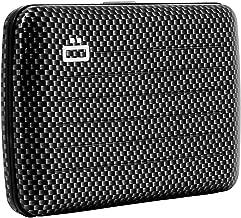 Ogon Aluminium Wallet | ID & Card Case for Men & Women | Rfid Safe | (CARBON TAFFETA)