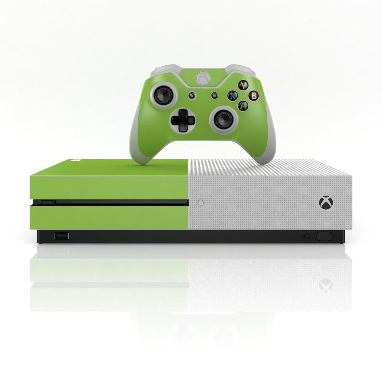 Xbox One S Skin Design Pegatinas set – Juego de colores 01 multicolor verde manzana: Amazon.es: Informática