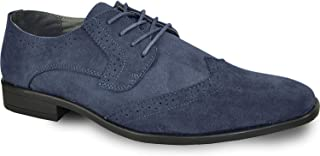 bravo! Men Dress Shoe King Classic Oxford Leather Lining - Wide Width Available