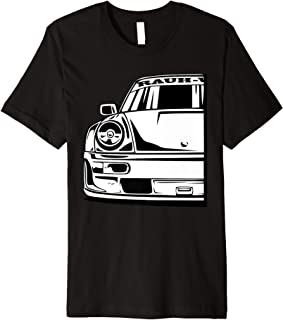 Automotive Apparel Retro German JDM Tuning Car Part 911 964 Premium T-Shirt
