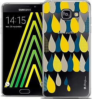 Case for Samsung Galaxy A5 2016, 3 Raindrops Design