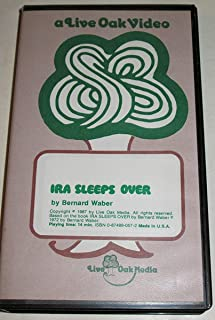 Ira Sleeps Over - Live Oak Video [VHS Tape] 1987