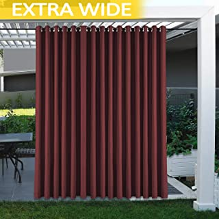cololeaf Extra Long Outdoor Curtain 120