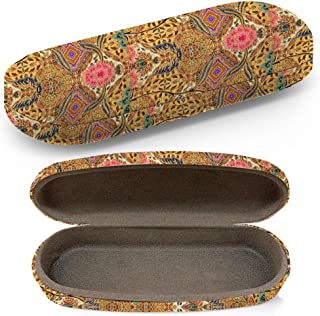 Hard Shell Glasses Protective Case with Cleaning Cloth for Eyeglasses and Sunglasses - Traditional Clothes Malaysia Include