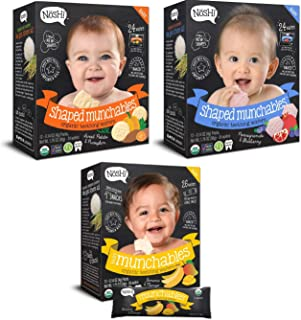 Nosh Baby Shaped Munchables (3 Different Kind Boxes)
