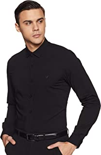 Allen Solly Men's Solid Slim Fit Formal Shirt