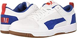 Puma White/Galaxy Blue/High Risk Red/Gum