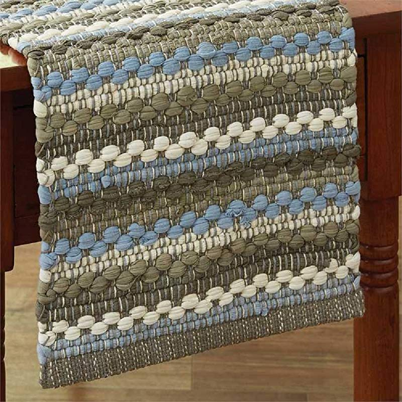 Park Designs Prairie Wood Table Runner Chindi Home Accessories