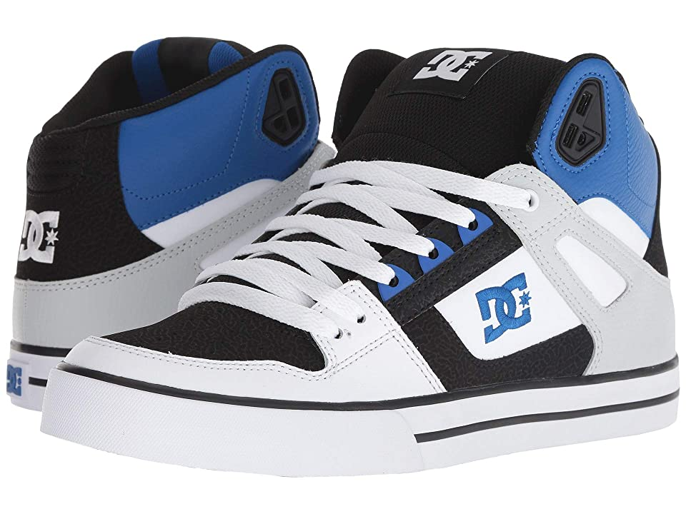 DC Pure High-Top WC (Black/White/Blue) Men