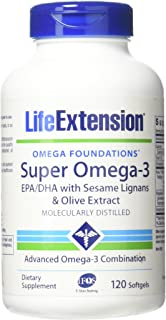 Super Omega-3 EPA/DHA with Sesame Lignans & Olive Extract 120 softgels-Pack-2