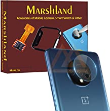 MARSHLAND Camera Lens Tempered Glass Anti Scratch Smooth Touch Camera Lens Protector Compatible for Oneplus 7T