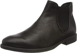 THINK! Civita_3-000025 Nachhaltiger Leder Gefütterter, Chelsea-Boots Homme