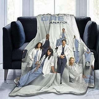 Harold Ultra-Soft Flannel Fleece Velvet Plush Throw Blanket Grey's Anatomy DIY Printing Bed Car Camp Couch Fall/Winter Plu...