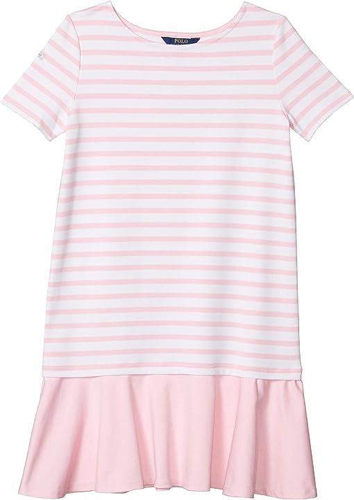 White/Carmel Pink