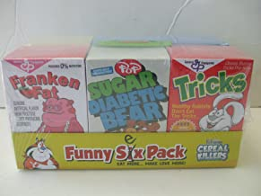 Ron English Popaganda Cereal Killers Funny Six (Sex) Pack Black Light Variants Box Set