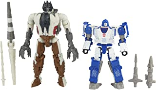 "Transformers - Generations - Kingdom Battle Across Time Collection - 5.5"" WFC-K40 Autobot Mirage & Maximal Grimlock - Delu..."