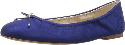 Sam Edelman Wohommes Felicia, Felicia, Felicia, Nautical bleu Silk dupioni, 6 M US a8e