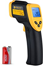 Etekcity Lasergrip 774 Non-contact Digital Laser Infrared Thermometer Temperature Gun -58℉~ 716℉ (-50℃ ~ 380℃), Yellow and Black
