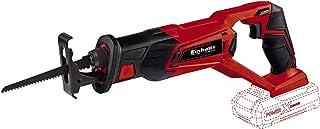 comprar comparacion Einhell TE-AP 18 Li -Sierra de sable inalámbrica, sistema de gestión de la batería, 18 V, carcasa con soportes de goma (re...