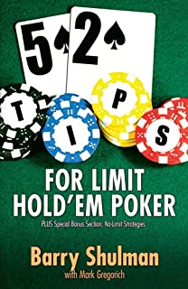 52 Tips for Limit Hold'em Poker