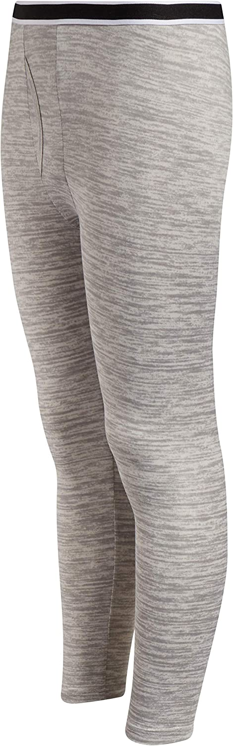 Only Boys Warm and Cozy Thermal Underwear Set Lightweight Fleece Lined Base Layer