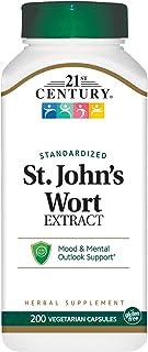 21st Century St. Johns Wort Extract Veg Capsules, 200 Count (21688)