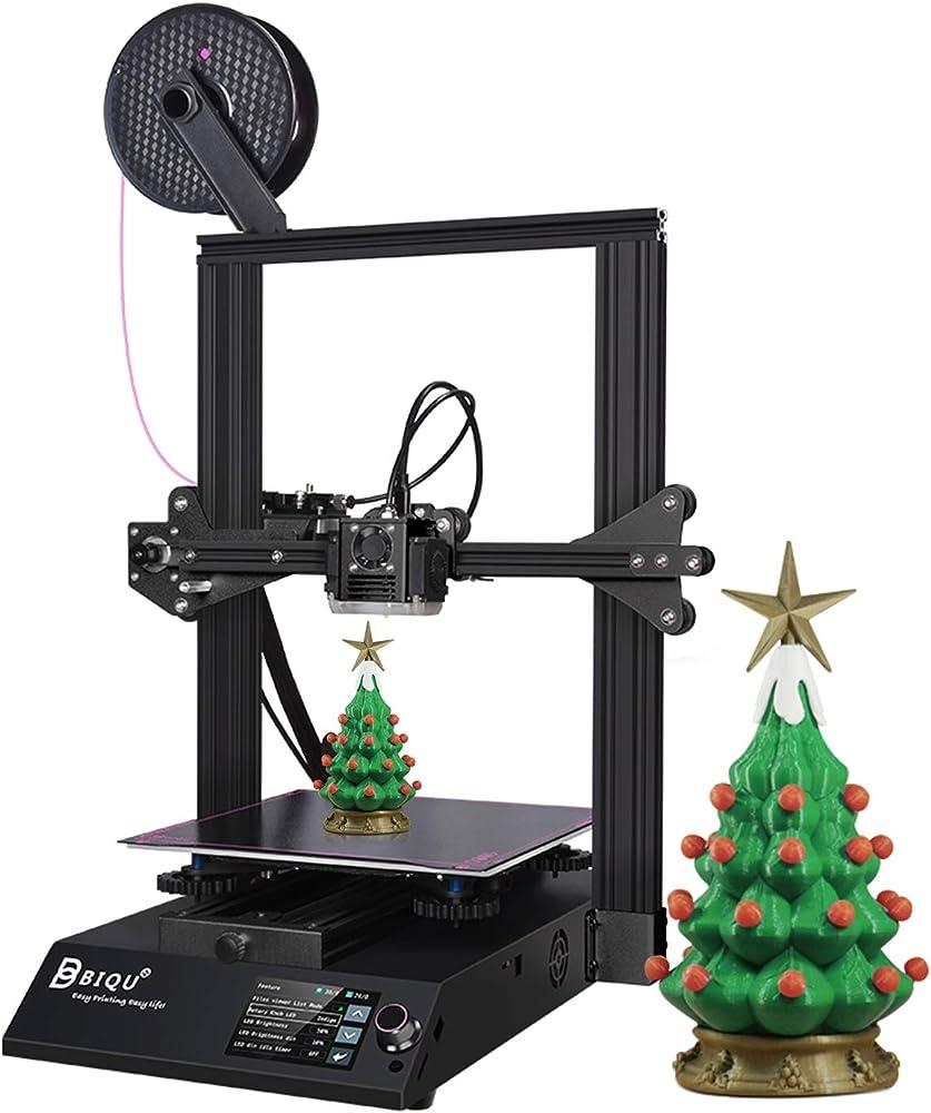 Biqu b1, stampante 3d in metallo,schermo tattile a colori da 3,5,riprendi stampa vs ender 3 v2 H-CDY000061