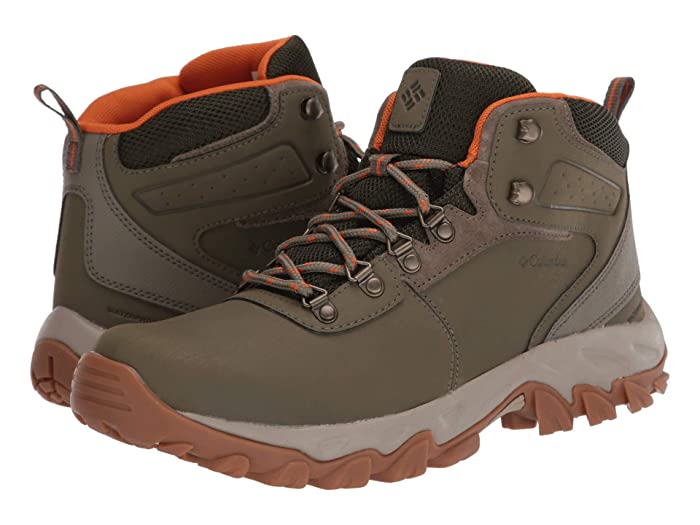 Columbia  Newton Ridge Plus II Waterproof (Sage/Valencia) Mens Waterproof Boots