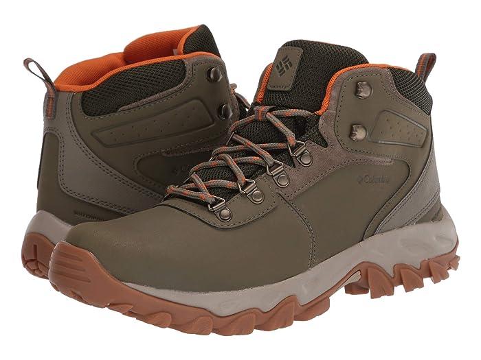 Columbia  Newton Ridge Plus II Waterproof (Sage/Valencia) Mens Waterproof Boots