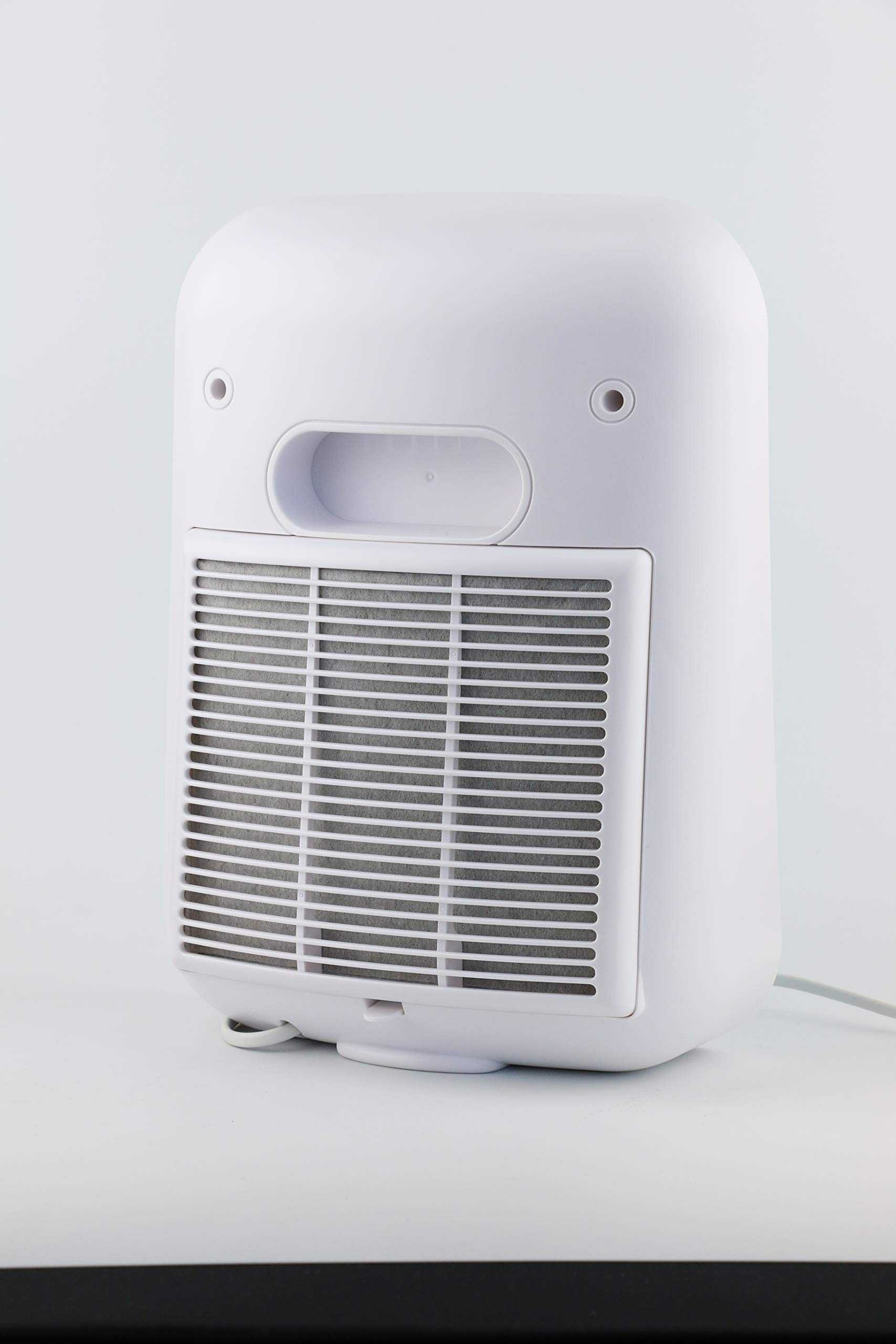 Nuvita Purificador de Aire Ionizador 1850 - Filtro HEPA Auténtico y Filtro de Carbón Activado - Elimina el Polvo Fino (PM 10 y PM 2,5), Polen, Alérgenos y Humo del Aire -