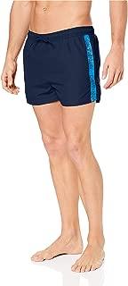 Calvin Klein Men's Short Drawstring Swimshorts, Blue