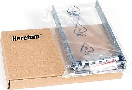 """Amazon.com: Bandeja de disco duro SATA SAS de 2,5"""" compatible con Dell G176J PowerEdge R610 T610 R620 R710 T710 R720 R815 R820 : Electrónica"""