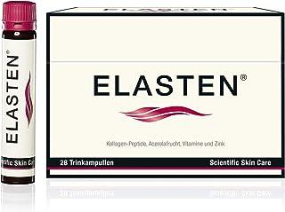 ELASTEN Trink-Kollagen für schöne Haut von innen, gegen Falten und schlaffe Haut, 28..