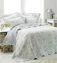 Riva Paoletti Etoille Bedspread (Twin) (Blue)