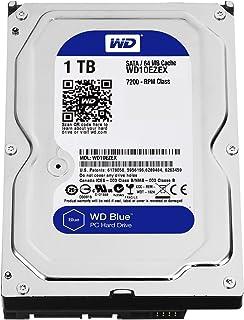 "Western Digital(WD) BLUE Deskptop 1TB(1Terabyte) 3.5""Hard Disk Drive, 5400~7200RPM, SATA3 (6.0GB/s), 64MB Cache, IDEAL for..."