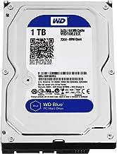 """Western Digital(WD) BLUE Deskptop 1TB( 1Terabyte) 3.5""""Hard Disk Drive, 5400~7200RPM, SATA3 ( 6.0GB/s), 64MB Cache, IDEAL f..."""