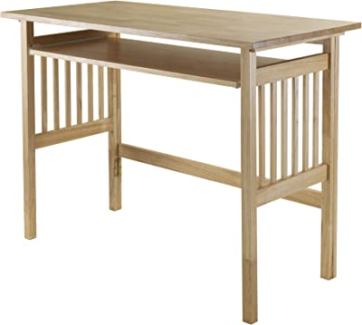 Winsome Wood Mission Home Office, Natural, 40.0 x 20.0 x 30.0