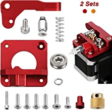 Anpro Two Sets of Upgrade 3D Printer Parts, MK8 Extruder Aluminum Alloy Block Bowden Extruder 1.75mm Filament for Creality 3D Ender 3,CR-7,CR-8, CR-10, CR-10S, CR-10 S4, and CR-10 S5