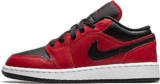 Nike Juniors Air Jordan 1 Bajo Gym Rojo - 553560605 - Gym Rojo Negro Blanco