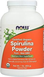 Now Foods, Spirulina Powder Organic, 16 Ounce