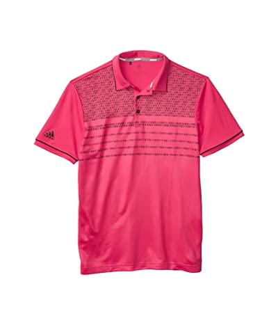 adidas Golf Core Novelty Polo (Power Pink) Men